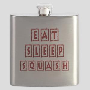Eat Sleep Squash Flask