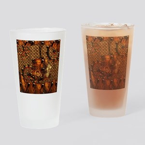 Awesome steampunk design Drinking Glass