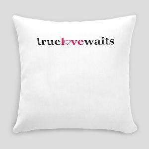 True love waits Everyday Pillow