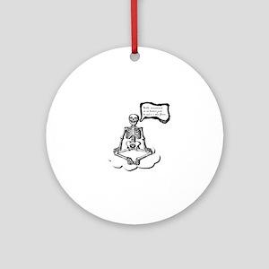 enlightenment Round Ornament