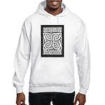 Celtic Cloverleaf Hooded Sweatshirt