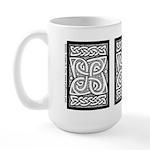 Celtic Cloverleaf Large Mug