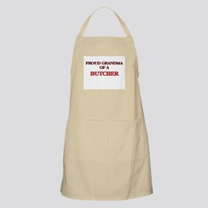 Proud Grandma of a Butcher Apron