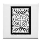 Celtic Cloverleaf Tile Coaster