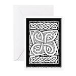 Celtic Cloverleaf Greeting Cards (Pk of 10)
