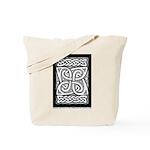 Celtic Cloverleaf Tote Bag