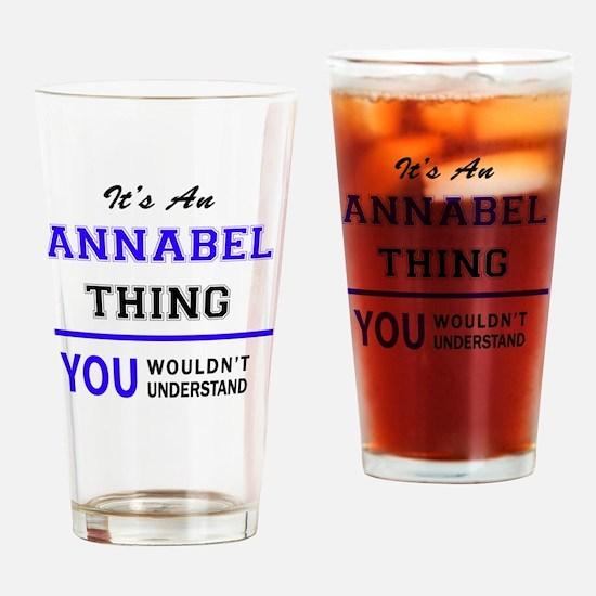 Unique Annabel Drinking Glass
