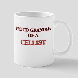 Proud Grandma of a Cellist Mugs