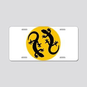 two geckos Aluminum License Plate