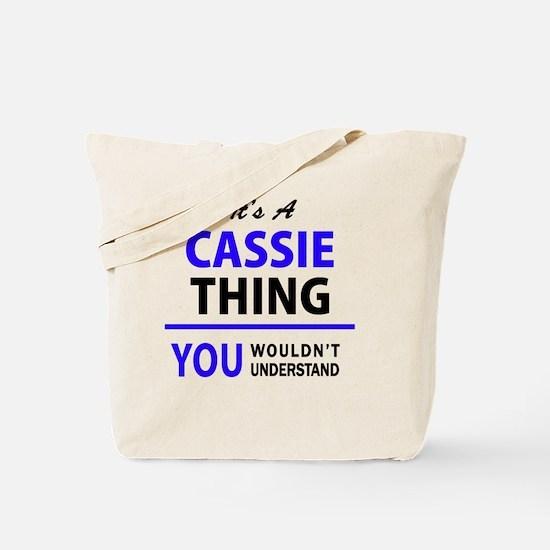 Unique Cassie Tote Bag
