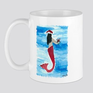Santa Mermaid Mug