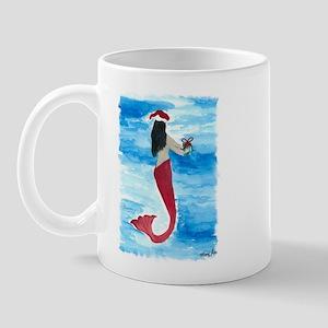 Santa Mermaid Mug
