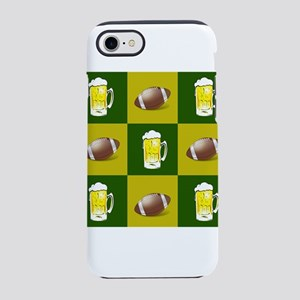 football and beer iPhone 8/7 Tough Case