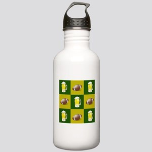football and beer Water Bottle
