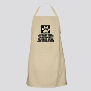 Jack Russell Terrier Awkward Dog Designs Apron