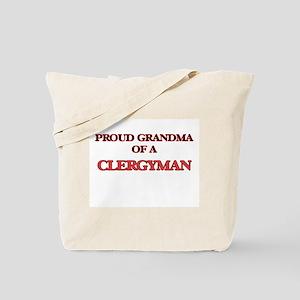 Proud Grandma of a Clergyman Tote Bag