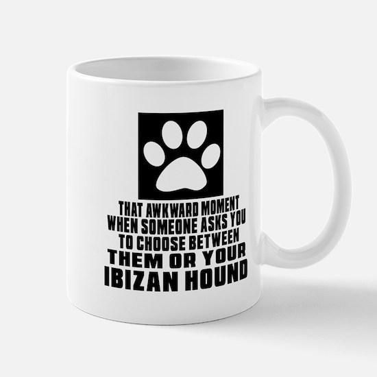 Ibizan Hound Awkward Dog Designs Mug