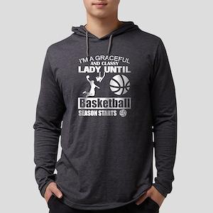 Until Basketball Season Starts Long Sleeve T-Shirt
