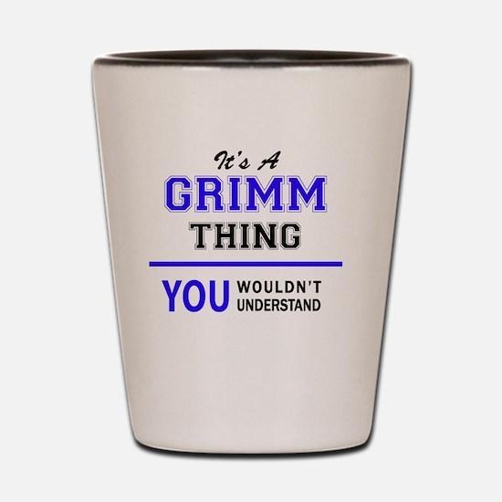 Cute Grimm Shot Glass