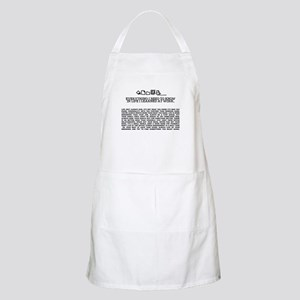 EVERYTHING I NEED TOKNOW IN LIFE-WORK BBQ Apron