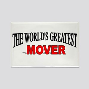 """""""The World's Greatest Mover"""" Rectangle Magnet"""