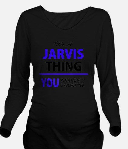 Unique Jarvis Long Sleeve Maternity T-Shirt