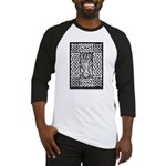 Celtic Knot Bare Branches Baseball Jersey