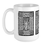 Celtic Knot Bare Branches Large Mug