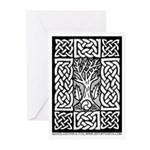 Celtic Knot Bare Branche Greeting Cards (Pk of 10)