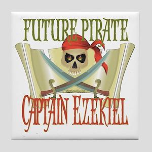 Future Pirates Tile Coaster