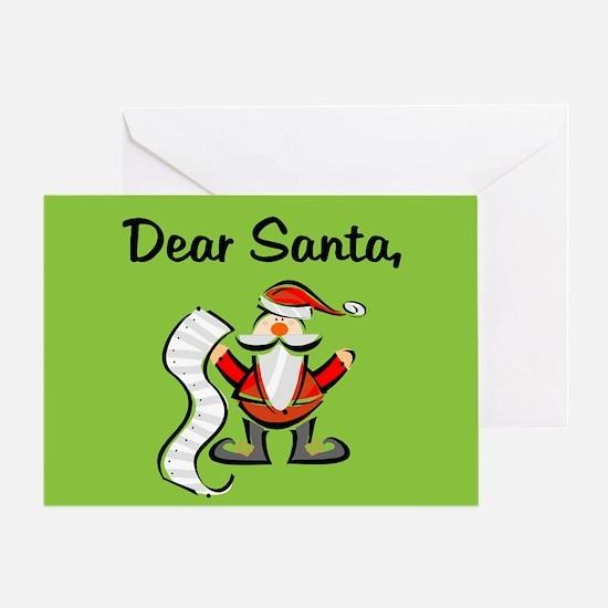 China Adoption Dear Santa Referral Christmas Card