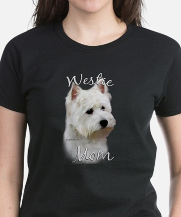 Westie Mom2 Women's Dark T-Shirt