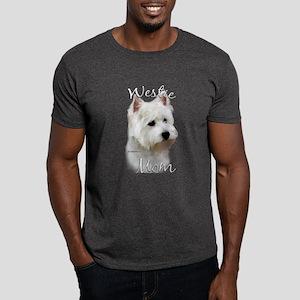 Westie Mom2 Dark T-Shirt