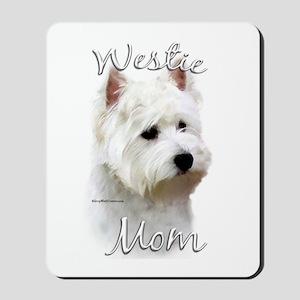 Westie Mom2 Mousepad
