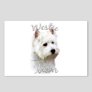 Westie Mom2 Postcards (Package of 8)