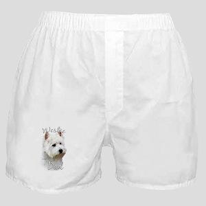 Westie Dad2 Boxer Shorts