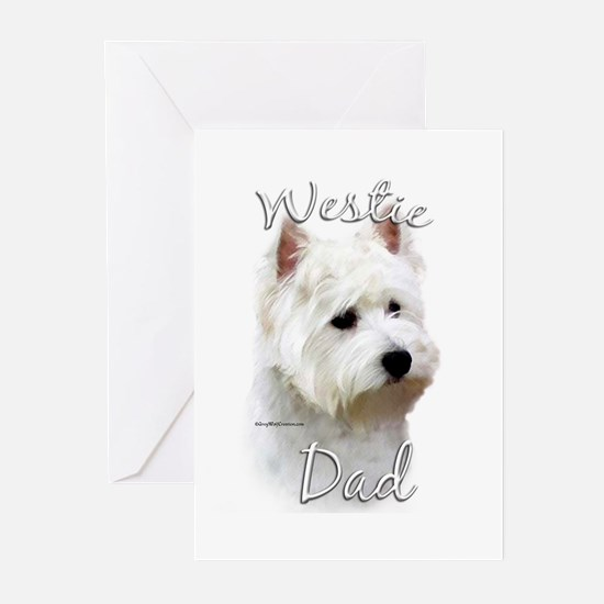 Westie Dad2 Greeting Cards (Pk of 20)