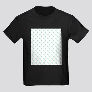 Watercolor Cactus Pattern T-Shirt