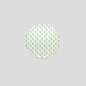 Watercolor Cactus Pattern Mini Button