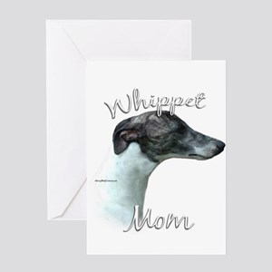Whippet Mom2 Greeting Card