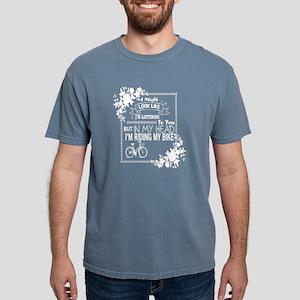 In My Head I'm Riding My Bike T Shirt T-Shirt