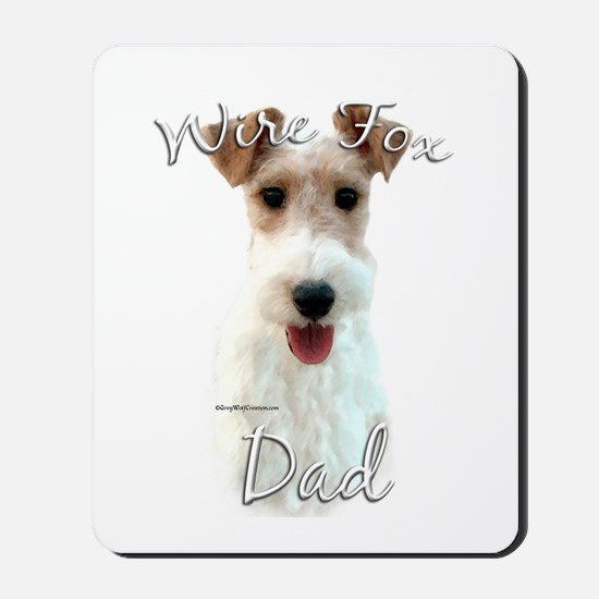 Wire Fox Dad2 Mousepad