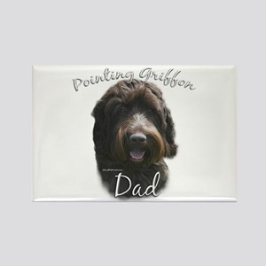 Griffon Dad2 Rectangle Magnet