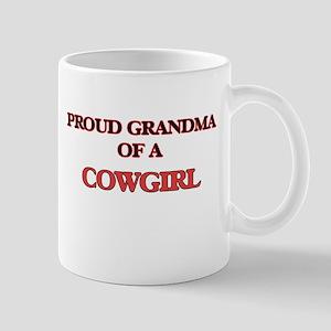 Proud Grandma of a Cowgirl Mugs