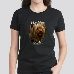 Yorkie Mom2 Women's Dark T-Shirt