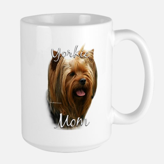 Yorkie Mom2 Large Mug