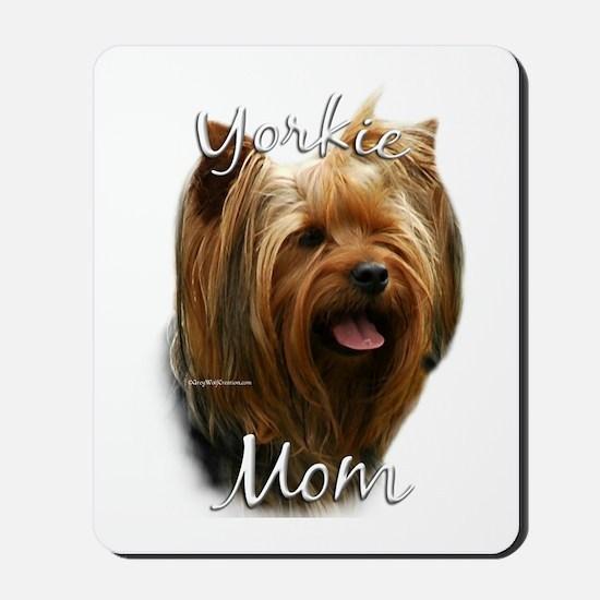 Yorkie Mom2 Mousepad