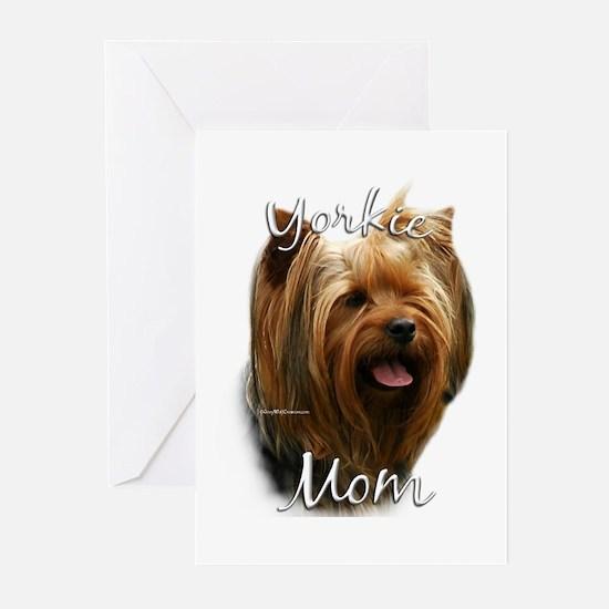 Yorkie Mom2 Greeting Cards (Pk of 10)
