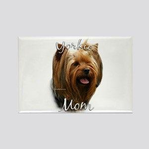 Yorkie Mom2 Rectangle Magnet