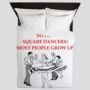 square dancing Queen Duvet